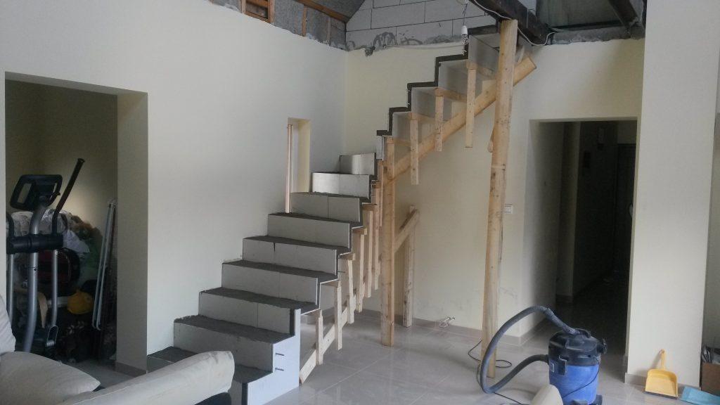 Escalier modern et innovant de Genève Suisse