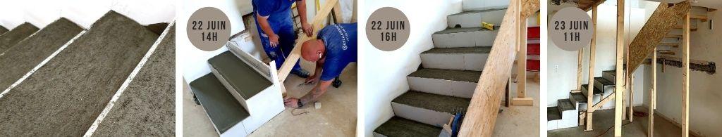 Construction d'escalier sur mesure en moins de 24 heures à Genève. Plus d'infos sur www.escalierdesign.ch