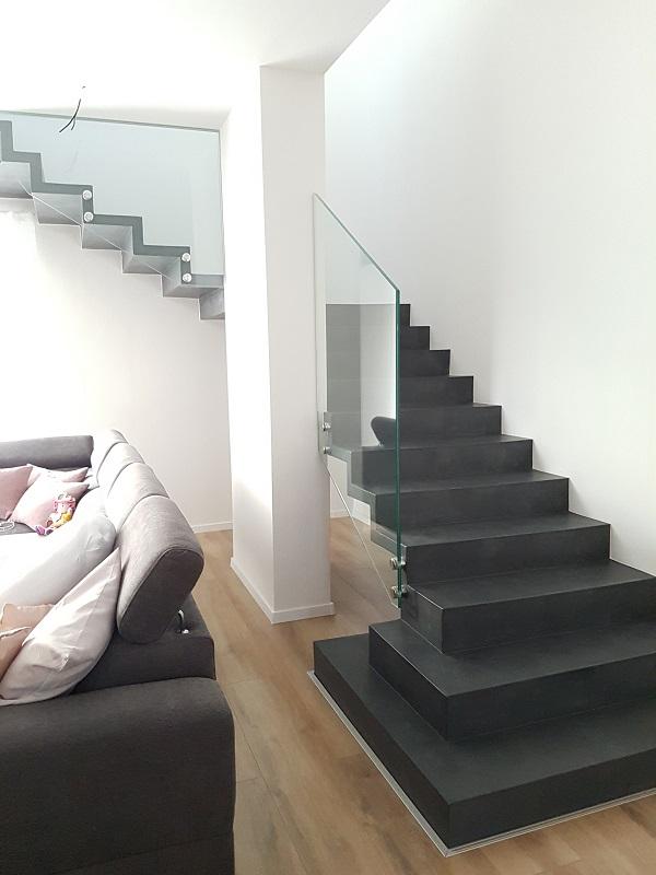 Escalier tournant, fabrication escalier intérieur