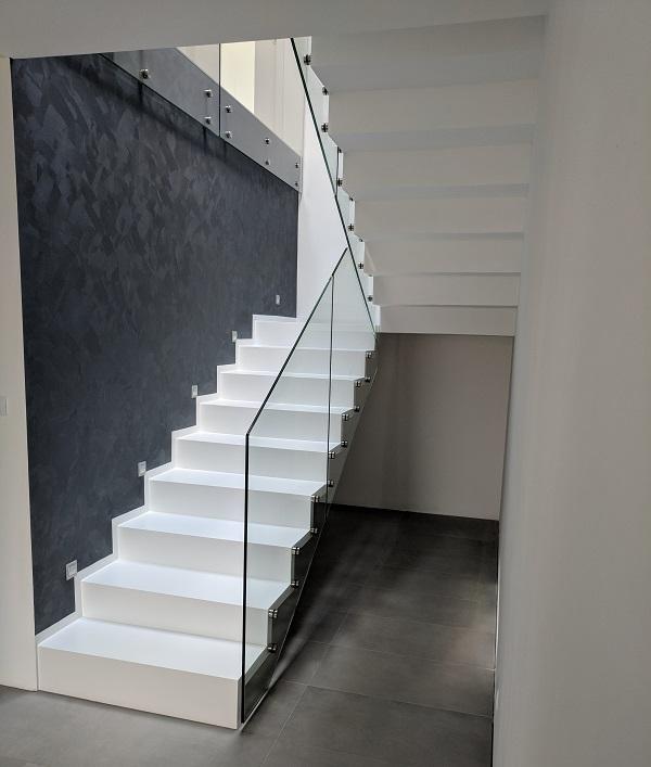 Escalier intérieur en Suisse