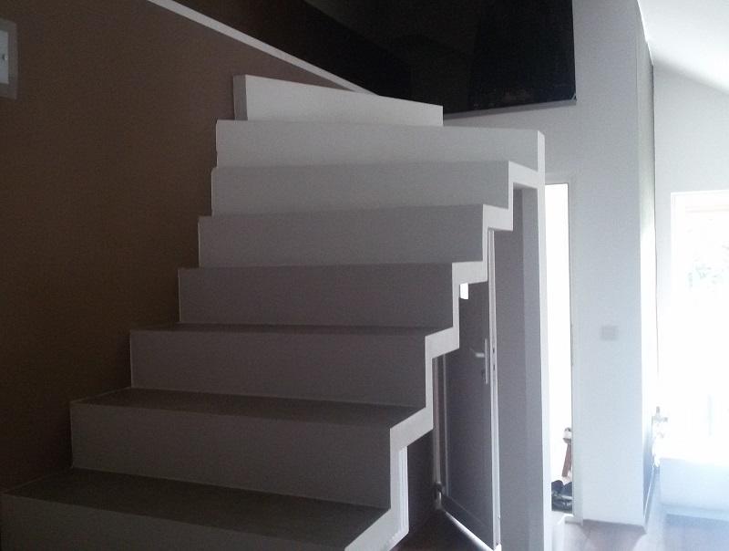 Fabrication escalier intérieur en Suisse